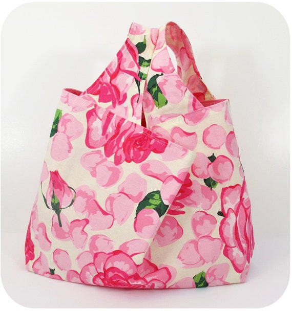Large Grocery Bag Easy Load Easy Clean and Very Pretty