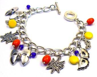 Super Pow Super Hero Charm Bracelet
