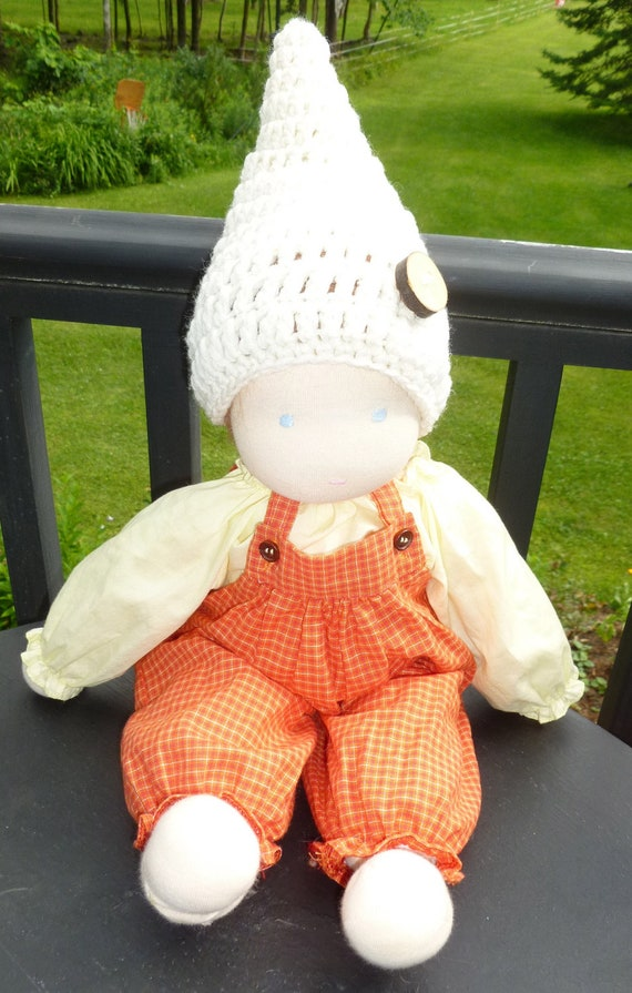 Gnome hat for your favorite doll or newborn baby