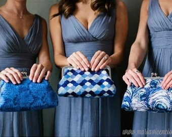 Wedding Clutches - Brides Clutch - Bridesmaid Gifts - Design Your Own