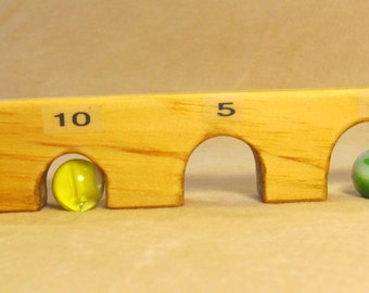 Arch Board marble game
