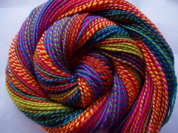 PRISMA - ooak handspun soft merino yarn, 185yds