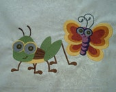 Quilt Squares, Quilt Blocks, Embroidered Designs, Various Subjects, Unfinished Edges, Custom Order