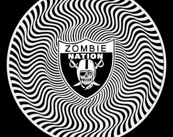 Zombie Nation Illusion Tee Shirt