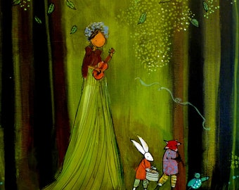 Forest Parade - Archival Print