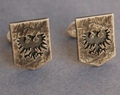 Sterling silver EVE Online Gallente federation cufflinks