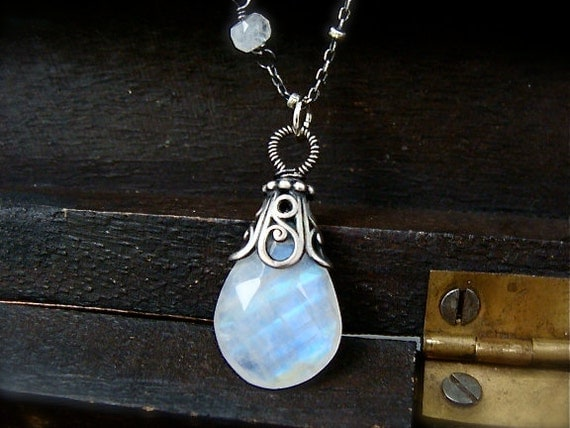 inner light ... moonstone pendant