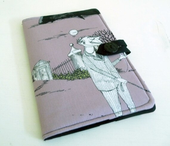 Nook Color, Nook Tablet Cover - Ghastlies, Halloween, Mauve