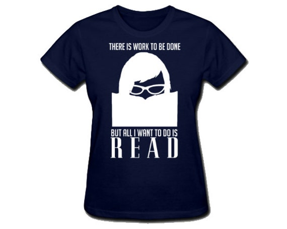 Womens Geek Tshirt Reading Bookworm Book Lover Chic Nerd Girl Short Sleeve Shirt Library Glasses Hipster Soft Cotton Clothing S M L XL XXL