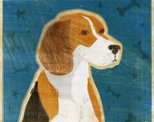 Dog Gifts- Mother Gift Ideas- Beagle Print- Dog Wall Decor- Beagle Art Print- Dog Print- Beagle Gifts- Best Friend Gifts- for Pet Lovers