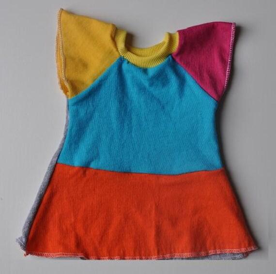 Bamboletta Flutter Sleeve Doll Dress for 15 inch doll no. 1 - Yoli  - Ready to Ship