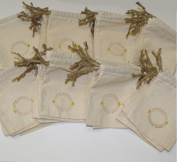 RESERVED FOR Erin Daley - Drawstring Favor Bags