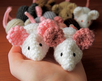 PDF CROCHET PATTERN - Mice