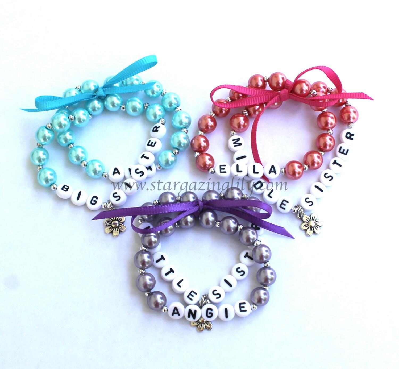 charm name bracelet personalized children 39 s jewelry big. Black Bedroom Furniture Sets. Home Design Ideas