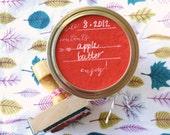 Canning/Preserving/Pickling Label Stamp - Enjoy