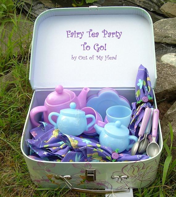 Tinkerbell Fairy Tea Party To Go Set