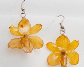 Hanami Orchid Earrings