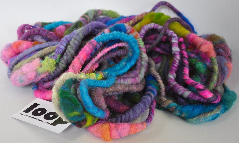 HOTHOUSE FLOWERS Hardcore Art Yarn by Loop