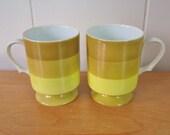 SALE vintage Holt Howard mugs Japan