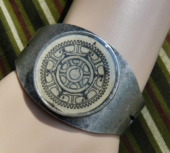G is for Gear Dictionary Cuff