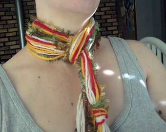 fall knot scarf