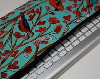 Water Resistant Apple Wireless Keyboard, Samsung Wireless Keyboard Case, Sleeve, Cover - Padded