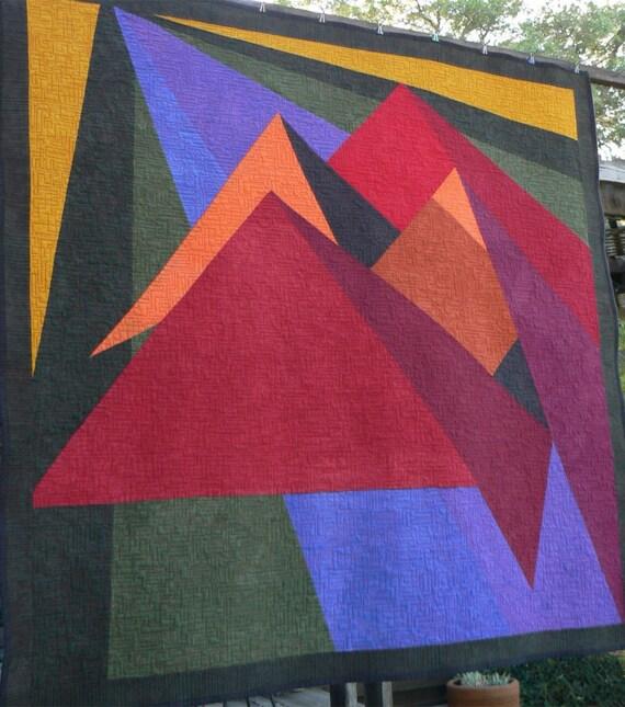 Mountain Range Quilt