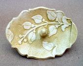 Damask Ceramic Ring Holder