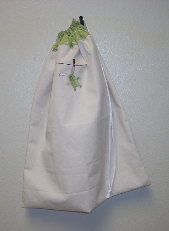 Washed Bunny Laundry Bag