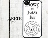 Alice in Wonderland Phone Case Down the Rabbit Hole for iPhone 4 4s 5 5s 5c SE 6 6s 7  6 6s 7 Plus Galaxy s4 s5 s6 s7 Edge