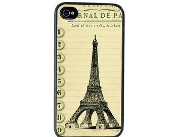 iphone 6 case Eiffel Tower iPhone case, Journal Style, fits iPhone 4, 4s - iPhone 5 Case