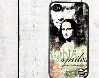 Mona Lisa Phone Case for  iPhone 4 4s 5 5s 5c SE 6 6s 7  6 6s 7 Plus Galaxy s4 s5 s6 s7 Edge