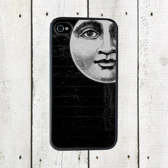 Moon Phone Case for  iPhone 4 4s 5 5s 5c SE 6 6s 7  6 6s 7 Plus Galaxy s4 s5 s6 s7 Edge