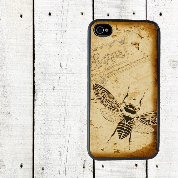 iphone 6 case Sepia Bee iPhone Case, for iphone 5, iphone 5s, iphone 5c, iphone4, iphone 4s, samsung galaxy s3, samsung galaxy s4
