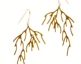 Branch Earrings (gold)