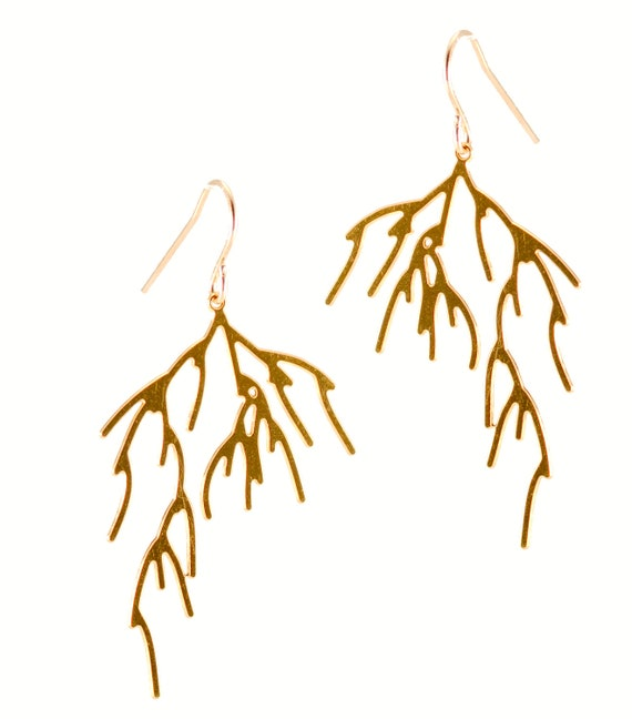 Branch Earrings (gold)