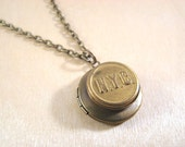 New York Central Railroad (NYC) Locket Necklace