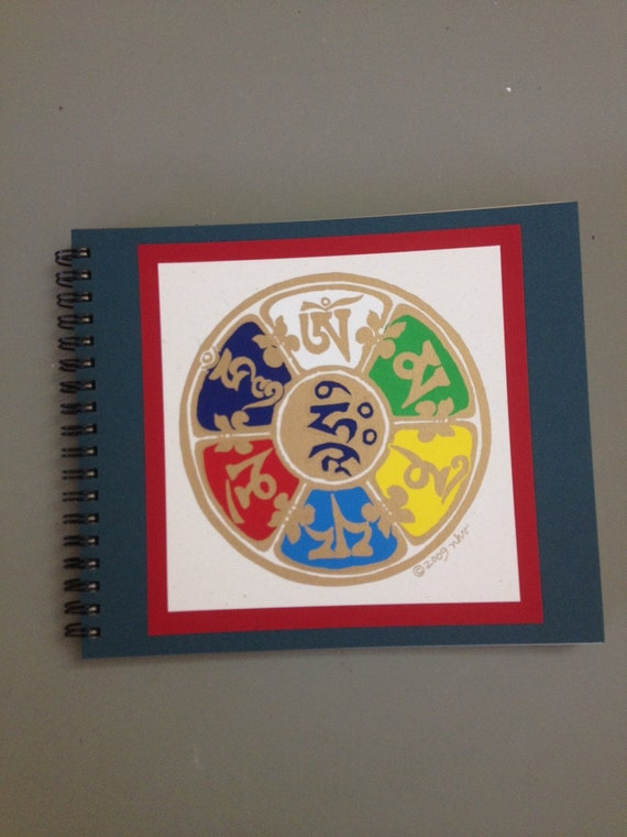 Tibetan Compassion Mantra Blank Notebook Journal
