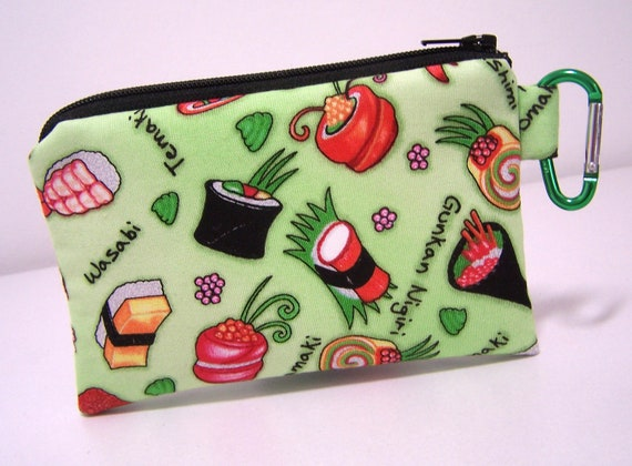 Sushi Clip Coin Purse