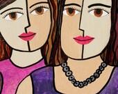 Sisters Art Print - Best ...