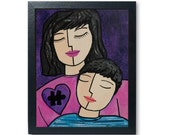 Autism Mom Art Print - Au...