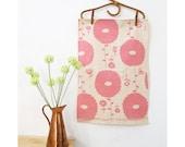 Tea towel - Flower Dreams, in strawberry