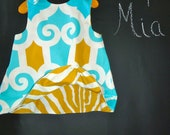 Reversible Swing Top - Jennifer Paganelli - Super Fly - Pick the size Newborn up to 8 Years by Boutique Mia