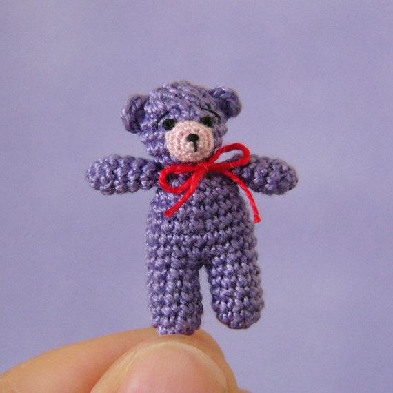 PDF PATTERN - Amigurumi Micro Crochet Tutorial Pattern ...