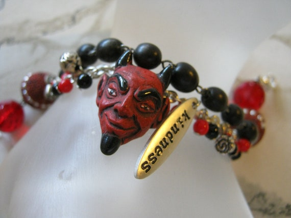 Devil Charm Bracelet