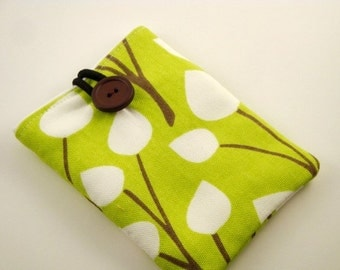 Padded Gadget Case for iPod Touch, phone or Camera-Chartreuse