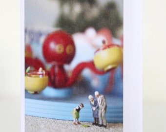 024 - the octopus didnt agree with betty - greeting card