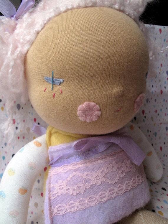 Chrysanthemum - Waldorf style doll