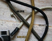 Camera Strap Hand knotted  Paracord - Strong, Beautiful and Unique, with Celtic Knot - Choose from 4 colors - Photographer, Film Digital