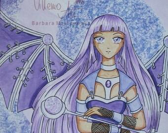 VIOLET - original manga art - SALE
